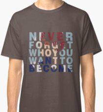 Shouto Todoroki Quote Classic T-Shirt