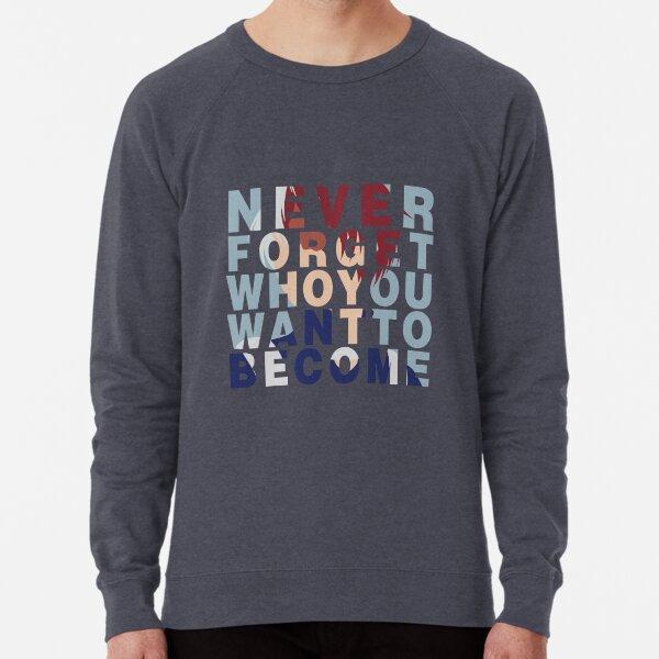 Shouto Todoroki Quote Lightweight Sweatshirt