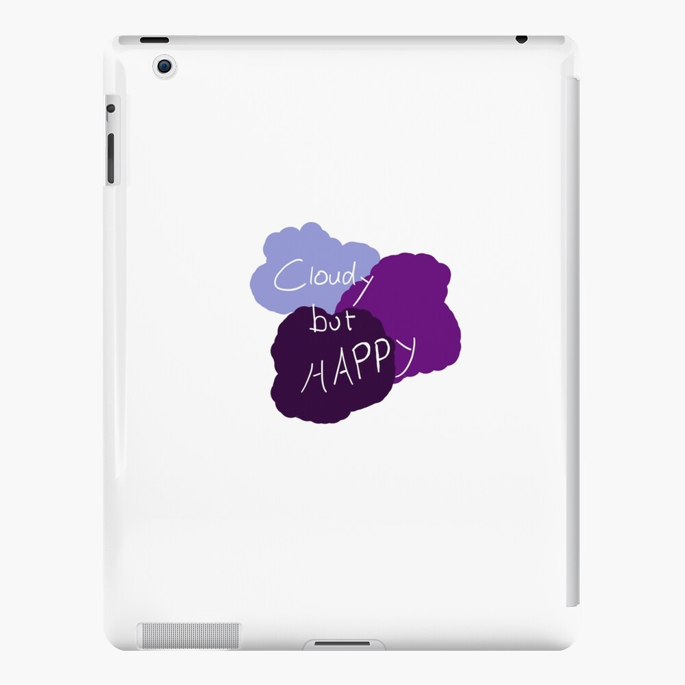 Cloudy but Happy iPad-Hülle & Skin