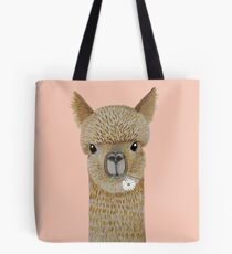 Jimmy the Alpaca Tote Bag