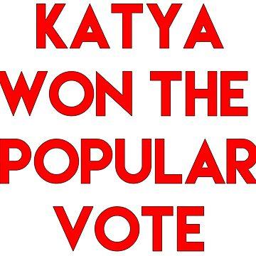 Katya Won the Popular Vote by alltallshade