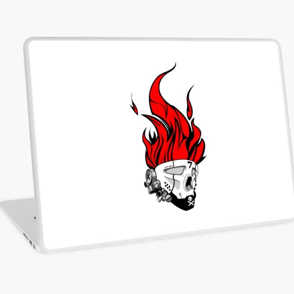 Hip hop graffiti skull Laptop Skin