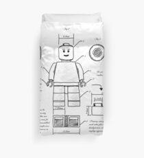 Funda nórdica Plano de Lego