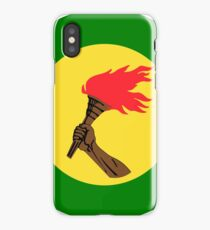 Roundel of Zaire Air Force, 1971-1997 iPhone Case/Skin