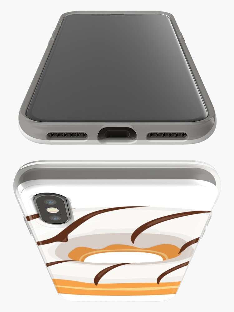 Alternate view of White Chocolate Glazed Donut iPhone Case & Cover