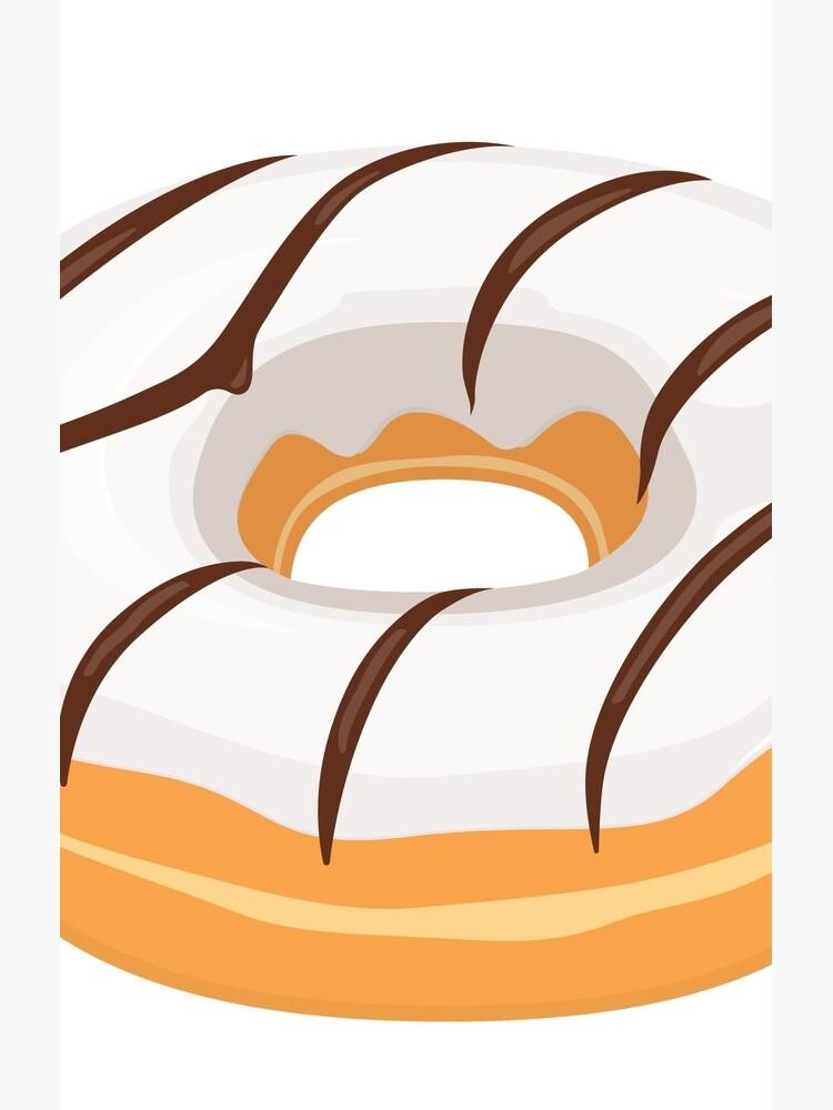 White Chocolate Glazed Donut by BuenoBanana