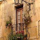 Alley Window in Victoria, Gozo. by Anthony Vella