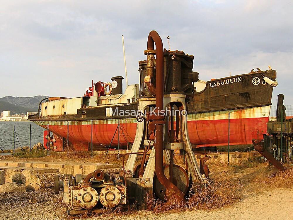 Laborieux et moteurs à vapeur by Masaru Kishino