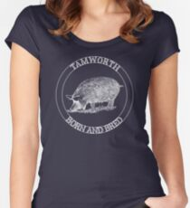 Tamworth Born & Bred-Sandyback Women's Fitted Scoop T-Shirt