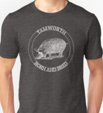 Tamworth Born & Bred-Sandyback T-Shirt