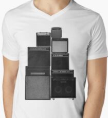the great wall of LOUD Men's V-Neck T-Shirt
