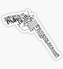 Gun Control Sticker