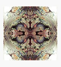Psychedelic Contemplation Photographic Print