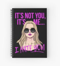 it's not you Spiral Notebook