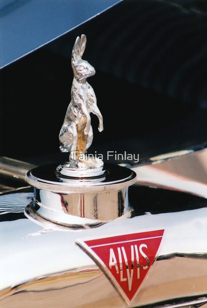 1933 Alvis Firefly - Hare Mascot by Tainia Finlay