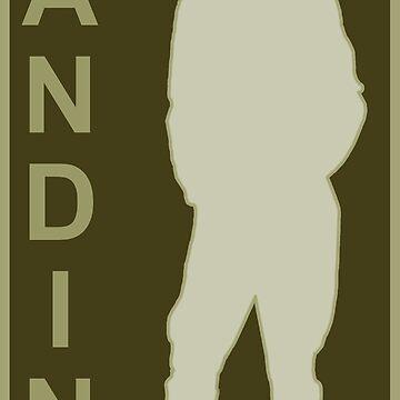 Sandino silhouette 2 by petermiller