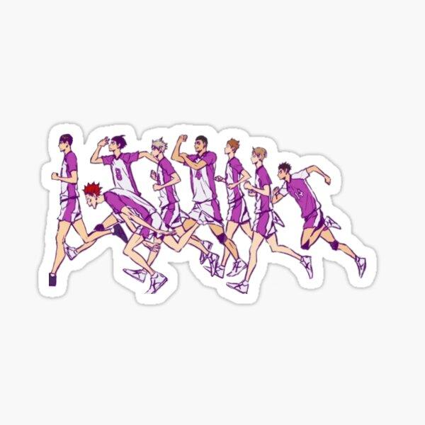 Haikyuu!! Shiratorizawa Team Sticker
