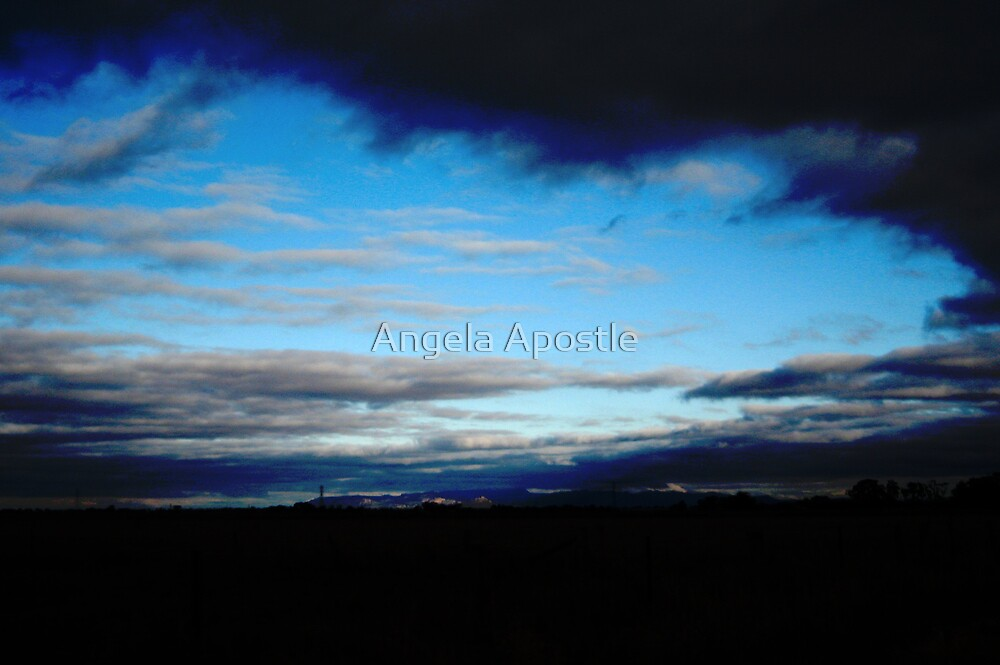 in the eye of the storm by Angela Apostle