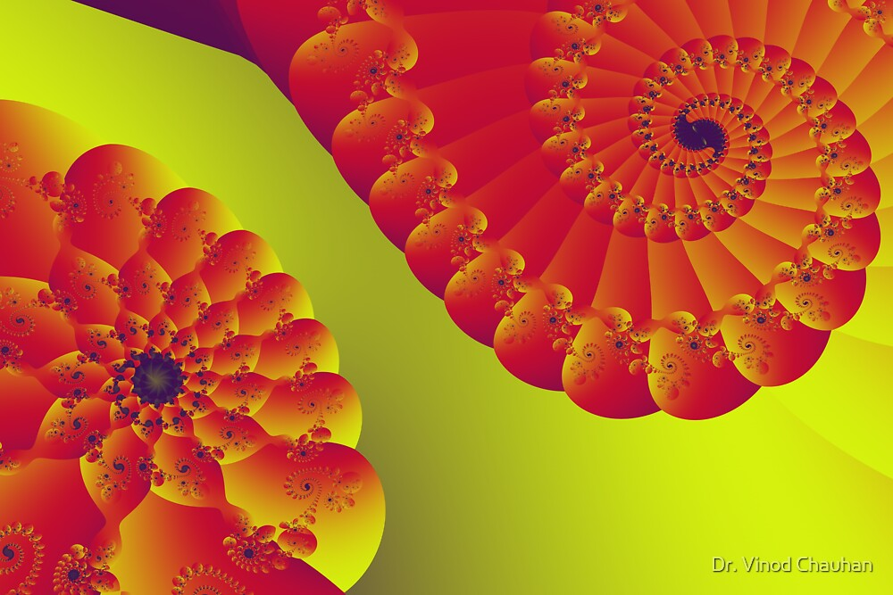 Floral Evolution 003.20.10.g4-280 by Dr. Vinod Chauhan
