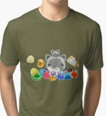 Slime collecter Tri-blend T-Shirt