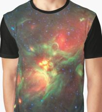 Galaxy Nebula Clouds, HD Photograph Graphic T-Shirt