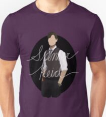 Spencer Reid / Matthew Gray Gubler Criminal Minds Sillouette Art With Name T-Shirt