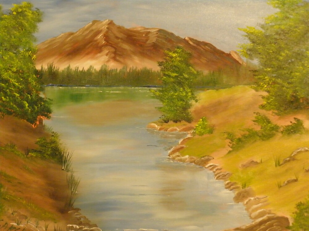 Mountain Lake by ron sargent
