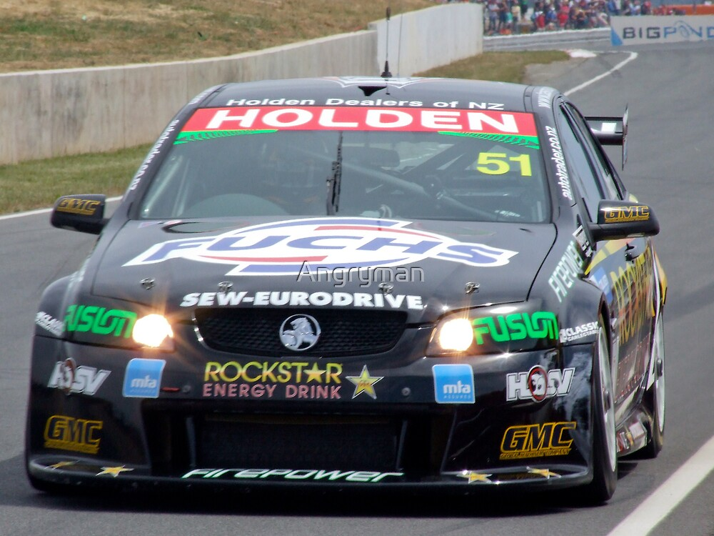Greg Murphy in action by Angryman
