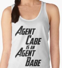 Agent Cabe is an Agent Babe Women's Tank Top