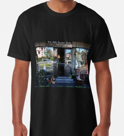 Reflexionen in einem Schaufenster Longshirt