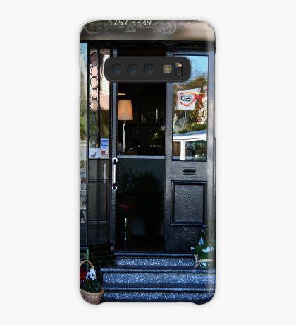 Reflexionen in einem Schaufenster Hülle & Klebefolie für Samsung Galaxy