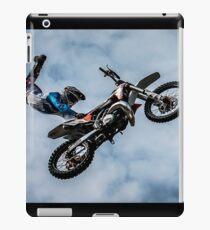 Dirt Bike - Sky Background iPad Case/Skin