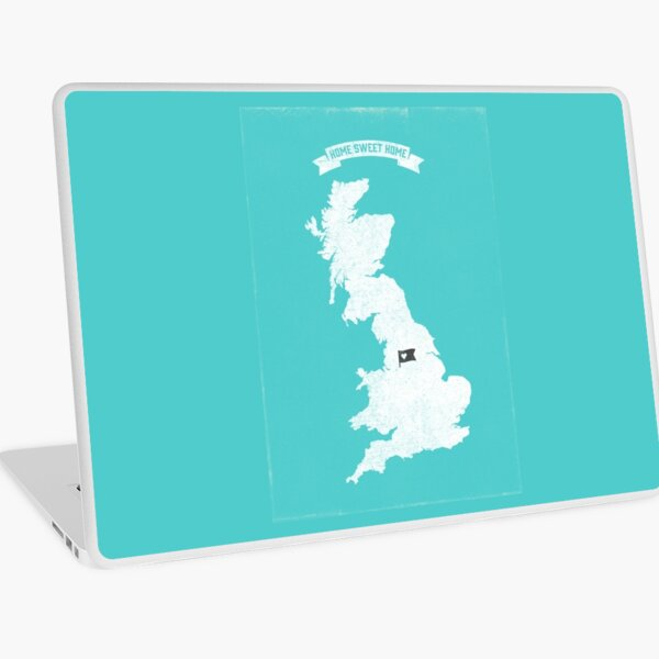 Home Sweet Home - Manchester City FC Laptop Skin