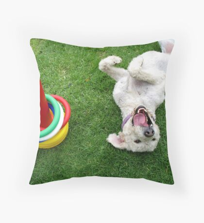The life of the party Throw Pillow