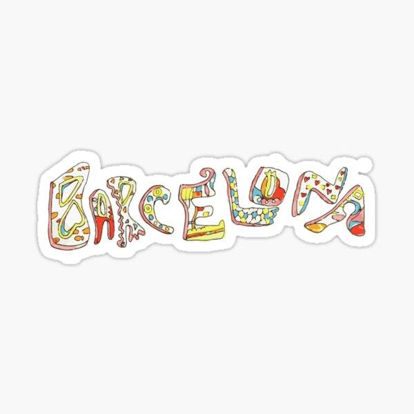 Barcelona Gaudi  Sticker