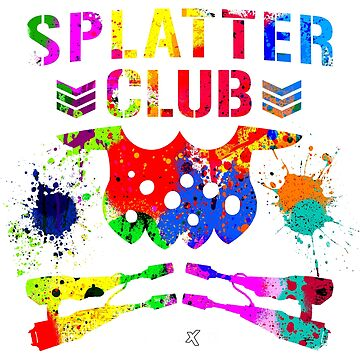 Splatter Club (Color) by enigmaxtreme