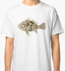 Steampunk mechanical fish Classic T-Shirt