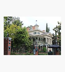 Enter the Haunted Mansion Photographic Print