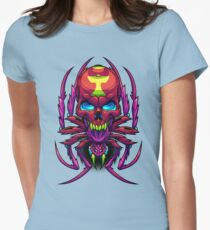 Neurotic Necrosis Womens Fitted T-Shirt