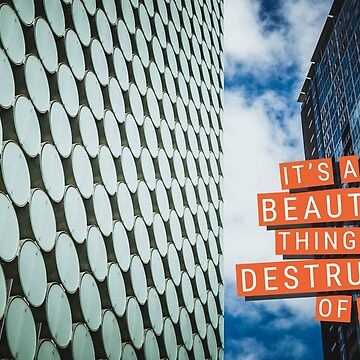 The Destruction of Words by melbournedesign