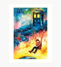 The Man Who Lived On A Cloud - Doctor Who Art Print
