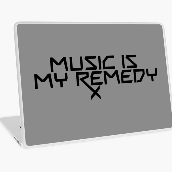 Music is my Remedy (RX) Laptop Skin