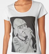 GG ALLIN Scum Art Women's Premium T-Shirt