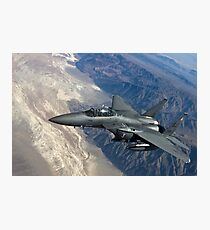 Military Fighter Jet Photograph Photographic Print