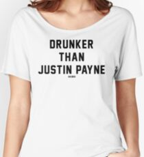 Drunker Than Justin Payne - W.B. Walker's Old Soul Radio Show - T Shirt Women's Relaxed Fit T-Shirt