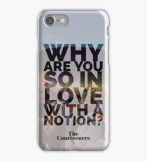 The Courteeners Lyric Graphic iPhone Case/Skin
