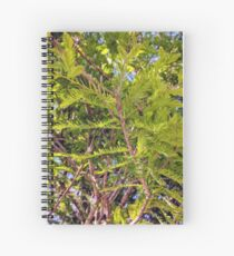 Under a tree Spiral Notebook