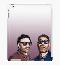 Jemaine and Taika 2 iPad Case/Skin