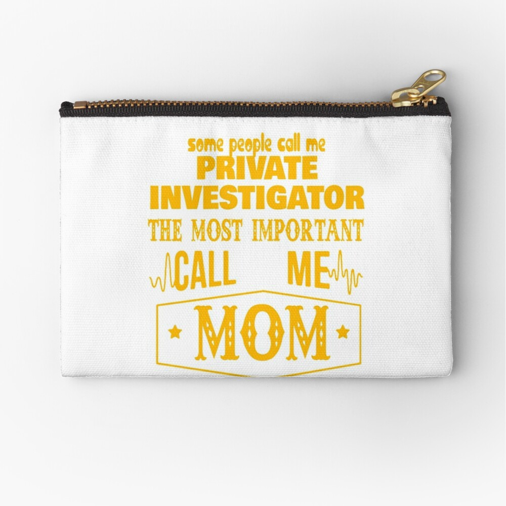PRIVATE INVESTIGATOR BEST COLLECTION 2017 | Zipper Pouch