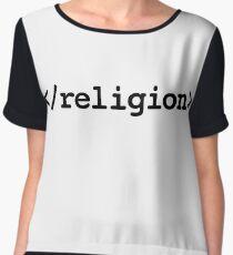 End Religion </religion> HTML Tag Chiffon Top